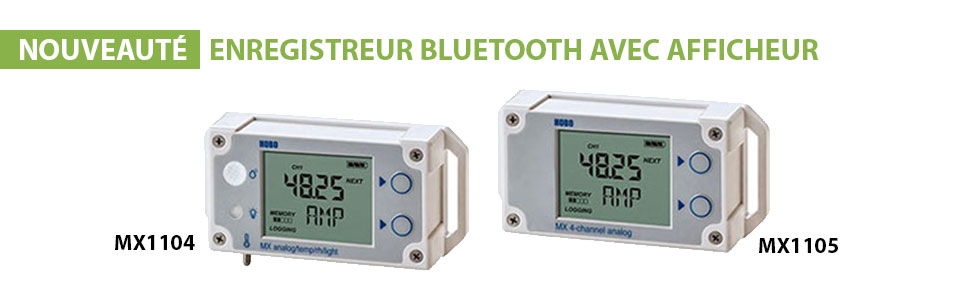 ENREGISTREURS BLUETOOTH MX1104 et MX1105