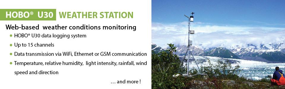 HOBO U30 station météo