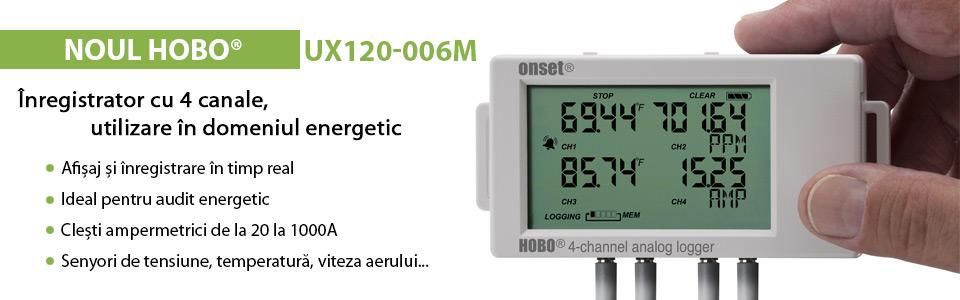 Enregistreur de données HOBO UX120-006M