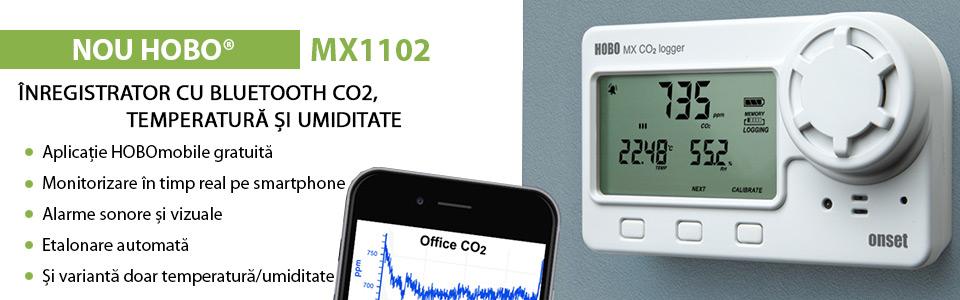 Enregistreur Bluetooth CO² temérature et humidité