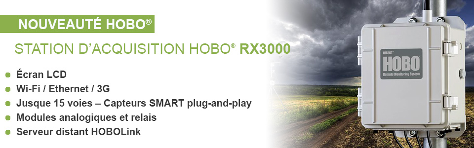 Station d'acquisition HOBO RX 3000
