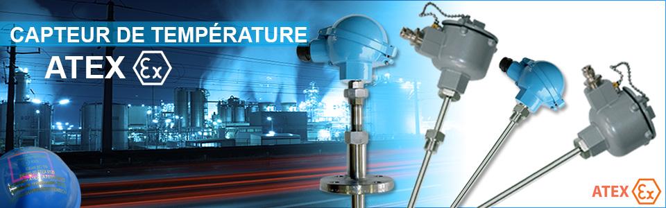 Capteur de température ATEX