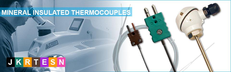 thermocouple chemisé