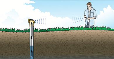Enregistreur de niveau d'eau HOBO Bluetooth MX2001