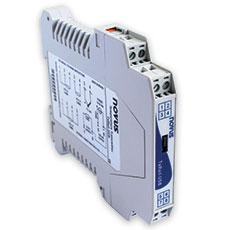 Transmetteur 4-20 mA ou 0-10 V - Rail Din PT100 / Thermocouple programmable - 990 PRO