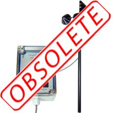 Anemometer with alarm