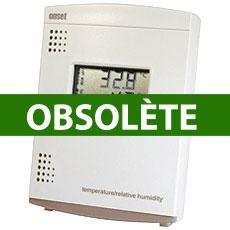 Enregistreur de température et d'humidité avec affichage LCD HOBO datalogger U14 LCD Temp/RH