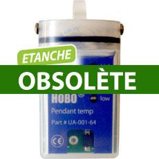 Enregistreur de température avec interface USB optique HOBO datalogger Pendant UA Temp/Alarm
