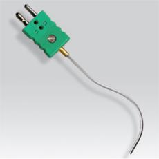 Sonde thermocouple chemisée déformable avec connecteur standard mâle