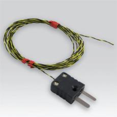 Sonde thermocouple avec soudure apparente et câble PFA torsadé - TOR