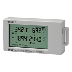 Înregistrator de temperatură cu 4 intrări termocuplu - UX120-014M