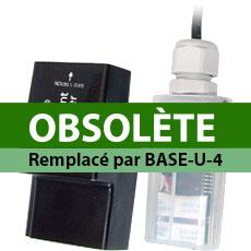 Station de base optique et coupleur pour enregistreurs HOBO Pendant
