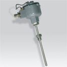 Platinum RTD (PT100) probe atex certified screw-in with extension tube
