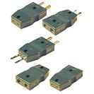 Adaptator termocuplu pentru conectori standard şi miniatură compensaţi