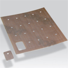 Adeziv pentru termocuplu de contact foaie cu 20 de adezivi decupaţi