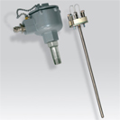 Platinum RTD (PT100) probe with cuff and measurement insert atex certified