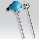 Platinum RTD (PT100) smooth probe with measurement insert, atex certified