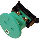 Conector termocuplu circular miniatură compensat încastrabil