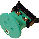 Embase thermocouple circulaire miniature compensé enclipsable