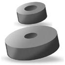 Garnitură din cauciuc pentru conectori standard şi miniatură compensaţi