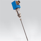 Probe thermocouple of telescopic Assembly  for the temperature measurement of the level of revolving machines