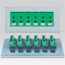Panel (delivered without connector industry) for base plate standard thermocouple enclipsable