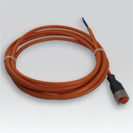 Option cable prolongation PVC straight connector M12 – RALDM12