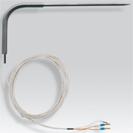 Termorezistenţă Pt 100 cu ţepuşă cu cot, cablu de racordare PFA