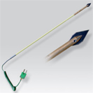 Probe thermocouple K for measure to fodder and the grain for portable numerical thermometer