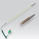 Probe thermocouple K for measure to the grain for portable numerical thermometer