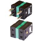 Conector termocuplu standard compensat duplex