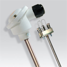 Platinum RTD (PT100) probe with metal protection Ø 13,5 mm and measurement insert