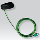 Probe thermocouple K of surface for piping for portable numerical thermometer