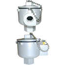 Standard head of connection ADF Explosion-proof certified ATEX EX EEx D T6, T5 or T4