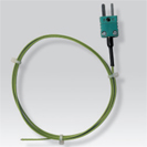 Probe thermocouple K for measurement of contact