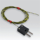 Thermocouple probe with visible junction, flat cable PFA twisted – TOR