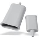 Protecteur caoutchouc pour connecteurs standards et miniatures compensés
