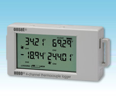 4-Channel thermocouple data logger HOBO® UX120-014M