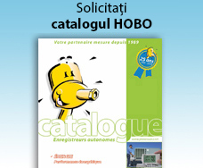 Noul catalog HOBO