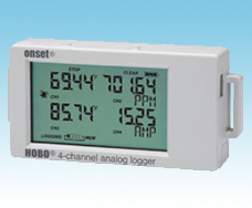 4 Channel data logger, Energy designed