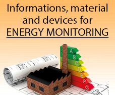 Equipement and materials for energy monitoring